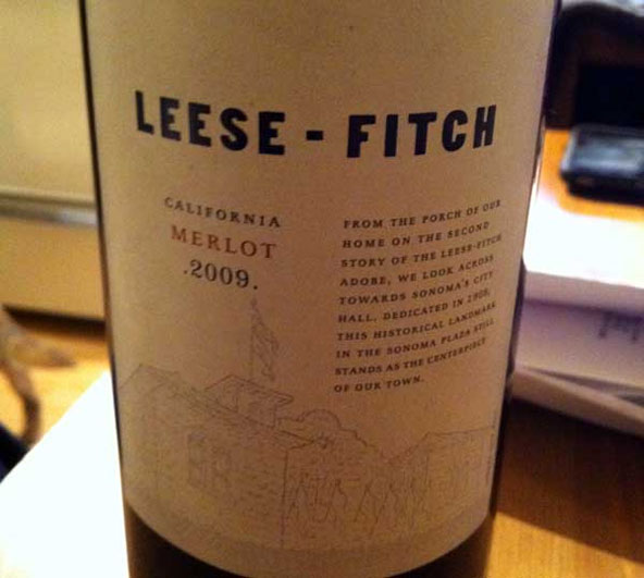 Leese Fitch California Wine